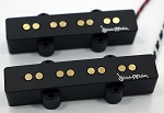 Gold REJ4 4 String Pickups- Rare Earth Charged Poles-- Rare Earth Charged Magnets- Neodymium