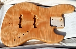 Cali Custom - Quick Custom  - Natural Flame Top -Premium Swamp Ash - Optional necks - Optional Electronics- USA  Made