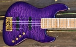 K5TS   Quilted Purple Burst -Swamp Ash - - Optional Electronics
