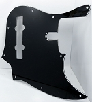 Black Pickguard  - 5 String -  Sire size #2 - Fits Later models