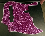 Purple Pearloid Pickguard  - Available in 4 or 5 - Early Sire size-