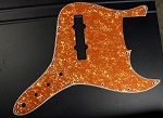 Orange  Pearloid  Pickguard  and Control Plate (SET) Fits Bassmods K534 2016 to current