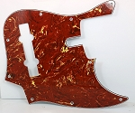 Retro Tortoise Pickguard  - 5 String -  Sire size #2 - Fits Later models